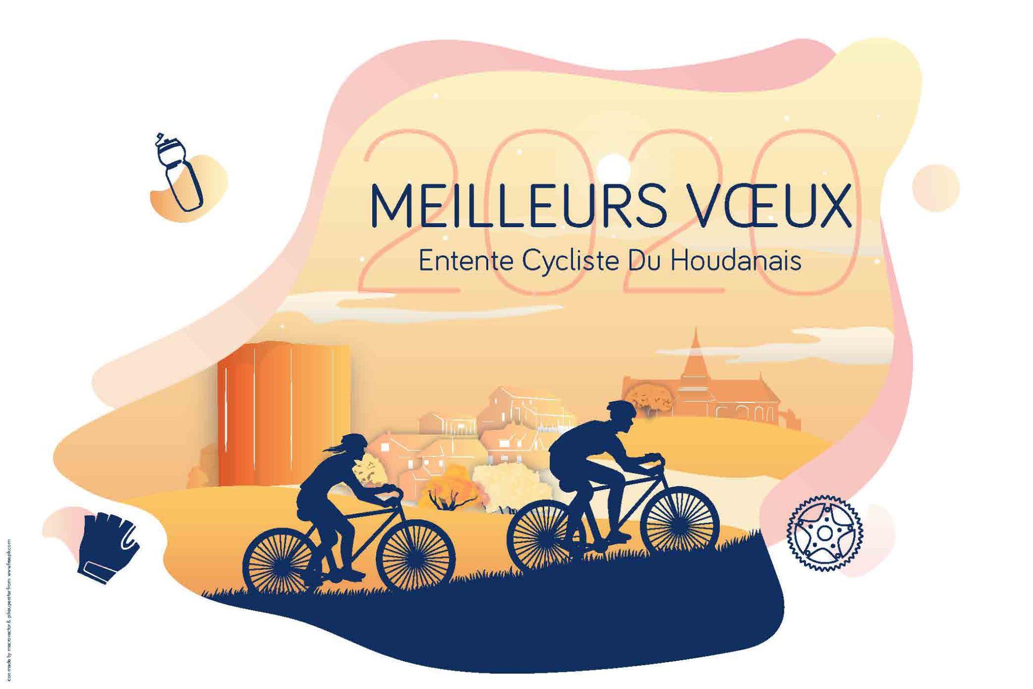 Entente Cycliste Du Houdanais - Conception graphique